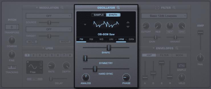 Omnisphere 2 Oscillator