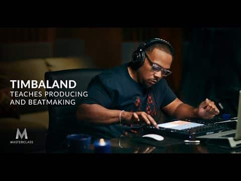 timbaland online music production masterclass course