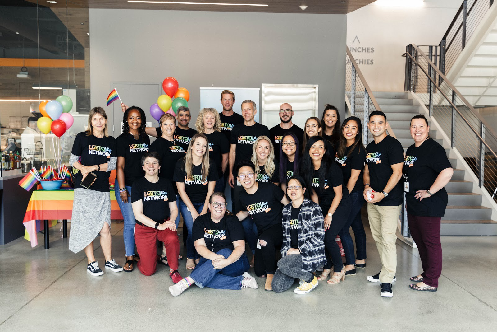 Members of the Palo Alto Networks LGBTQIA+ Employee Network