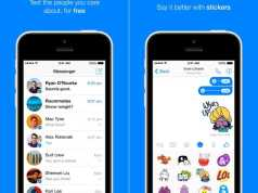 Facebook Messenger aplicatie