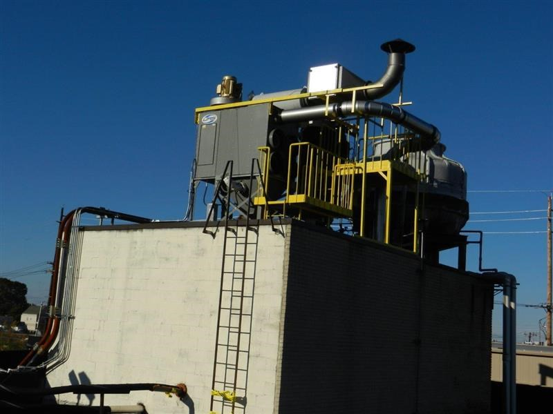 View of Dust Collector at US Ink