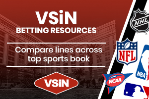 Compare lines across top sports books