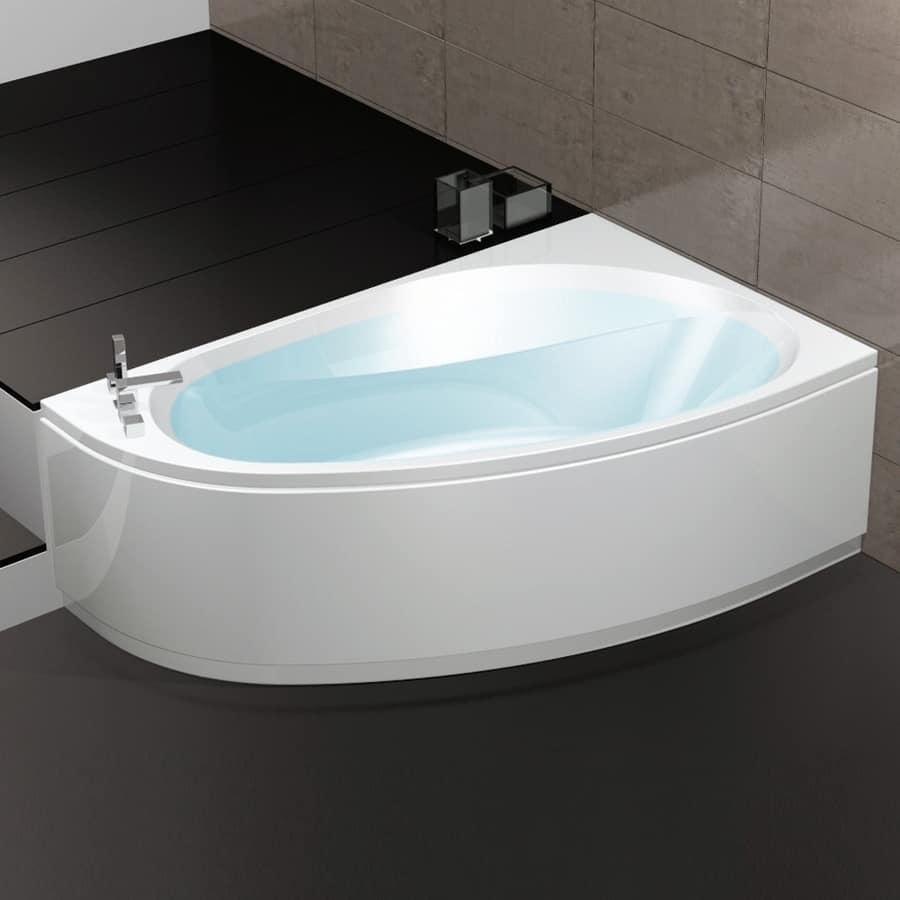 Bathtub with air regulation 6 whirlpool jets  IDFdesign