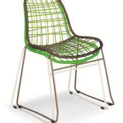 Steel Net Chair Swivel Reclining Chairs Small Metal And Plastic Ideal For Outdoors Idfdesign