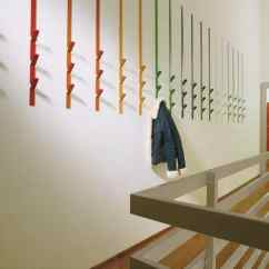 Modular Kitchens Contemporary Kitchen Table Coat Hooks, Modular, In Metal, For Residential And ...