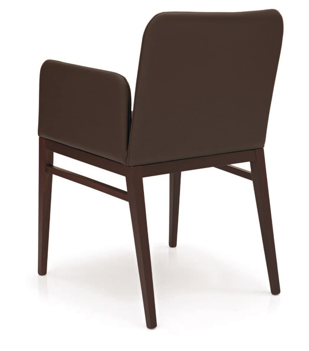 modern leather dining chairs with arms sit stand chair reviews upholstered armchair in wood for residential and contract