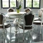 Dining Table With Octagonal Glass Top Idfdesign