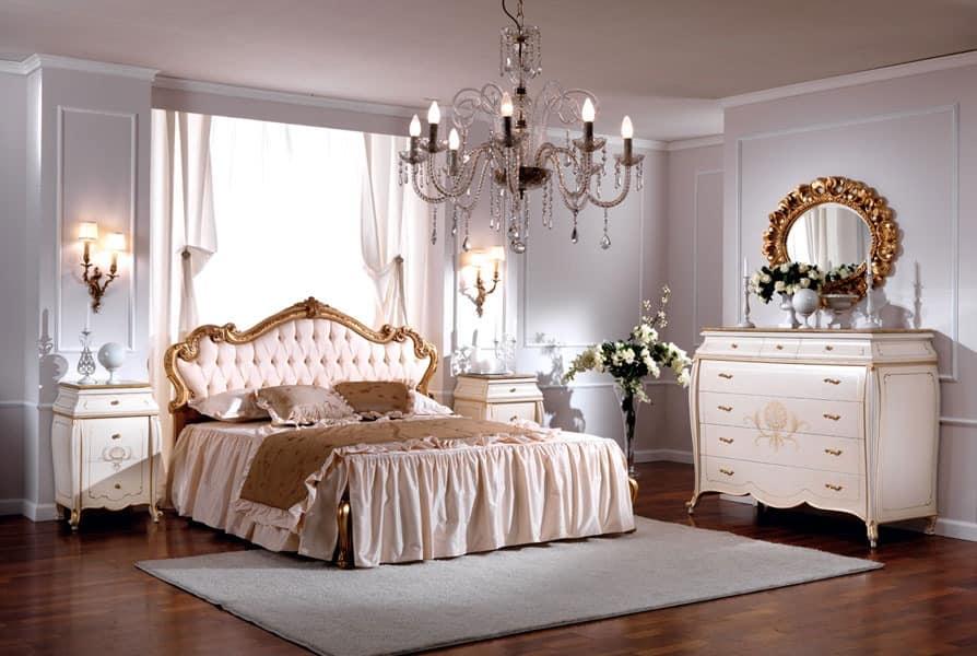 letto a baldacchino moderno (pensando a una cameretta per 2) rosmarino. Luxurious Double Bed Quilted Headboard Idfdesign
