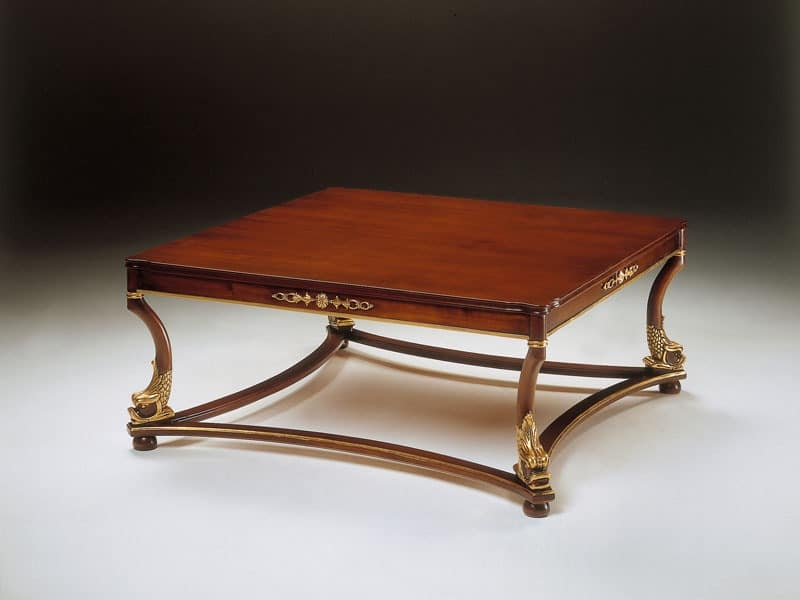 classic wooden coffee table for