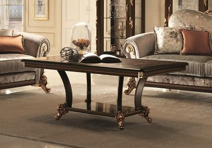 classic coffee table for the center