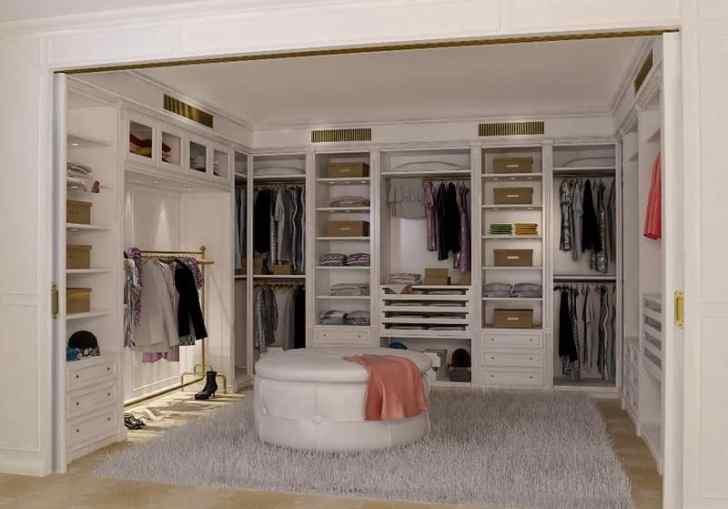 Best Walk In Closets Designs