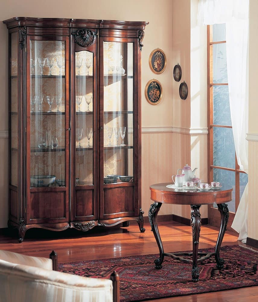 Hand decorated display cabinet for dining room  IDFdesign