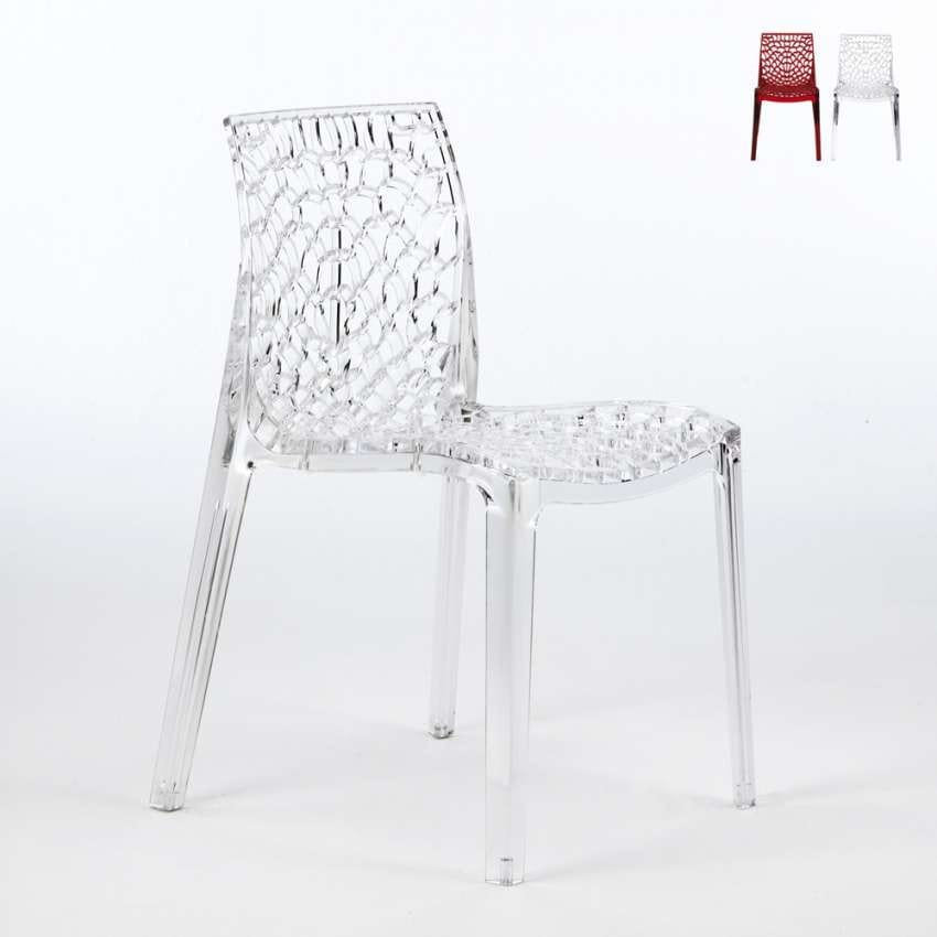 transparent polycarbonate chairs outwell chair accessories kitchen in idfdesign bar gruvyer grand soleil s6316tr