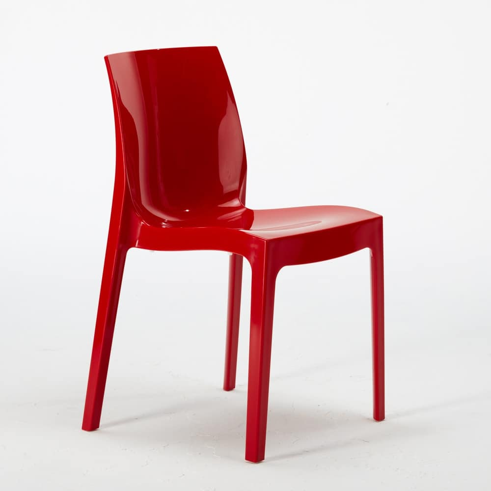 transparent polycarbonate chairs rope hammock chair plastic stackable economic idfdesign kitchen bar femme fatale s6317