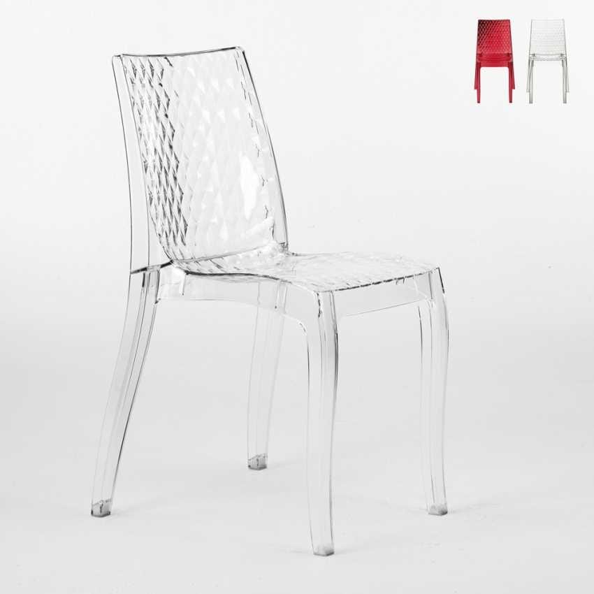 transparent polycarbonate chairs swing chair bed for outside idfdesign internal design hypnotic s6319