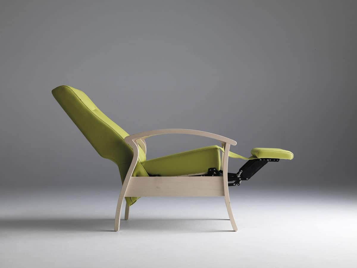 chair design for elderly hanging under loft bed stable and relaxing reclining people