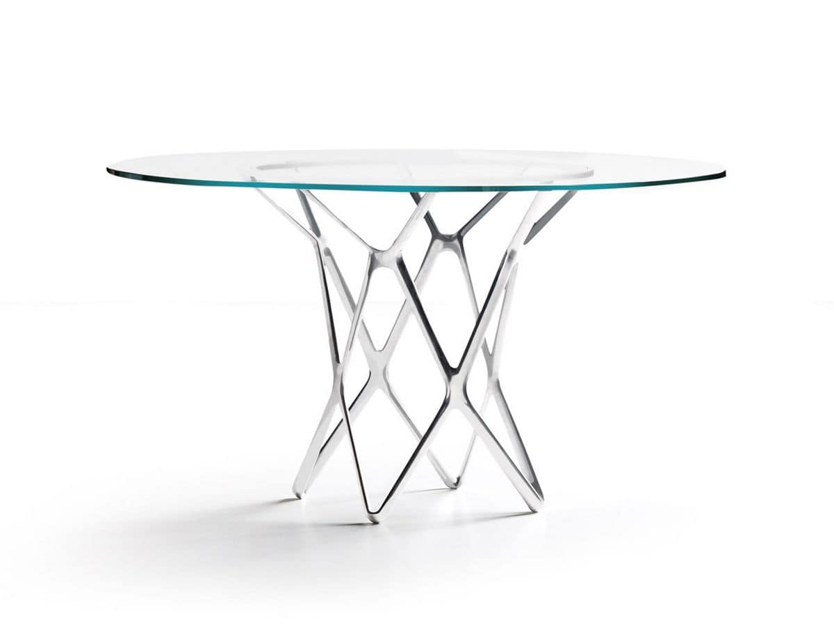 Design Table Glass Top For Dining Room