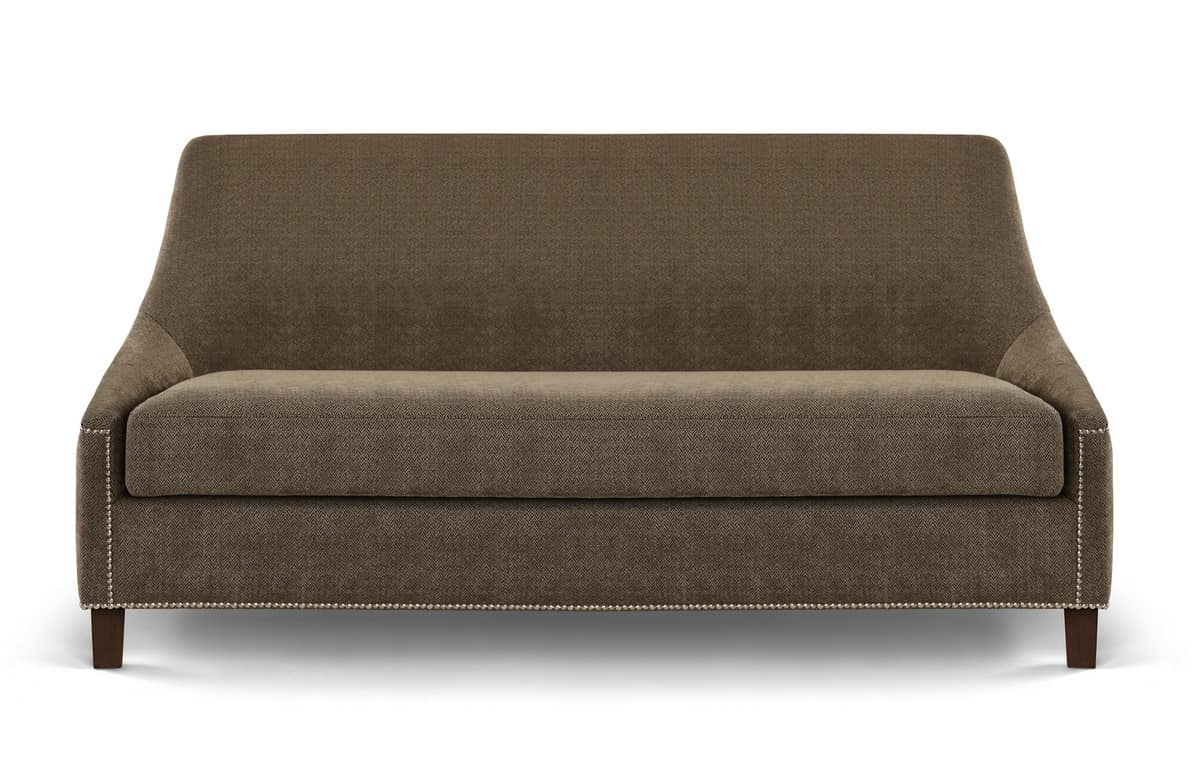 leather or fabric sofa for dogs two seater small fixed upholstery idfdesign