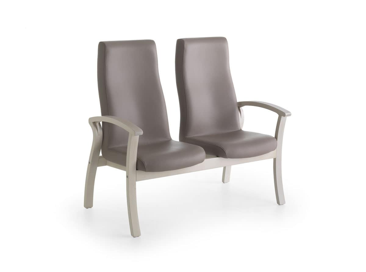 high backed chairs for the elderly air travel beach sofa with back comfortable medical office
