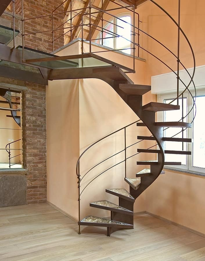 Self Supporting Structure For Spiral Staircase Idfdesign | Helical Staircase Structural Design