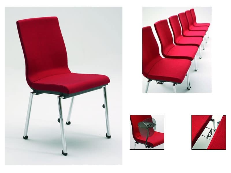 Comfortable padded chair Meeting rooms  IDFdesign