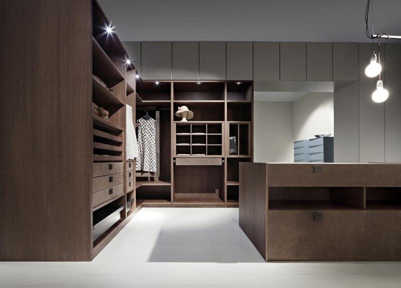 Modern wardrobe room space optimization  IDFdesign