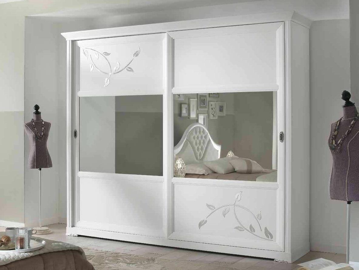 armoire blanche avec portes