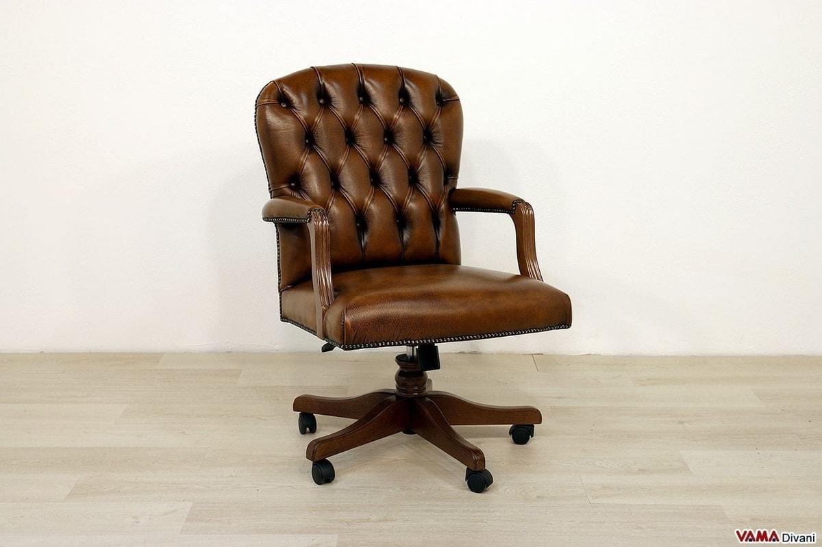 fauteuil pivotant de petites dimensions