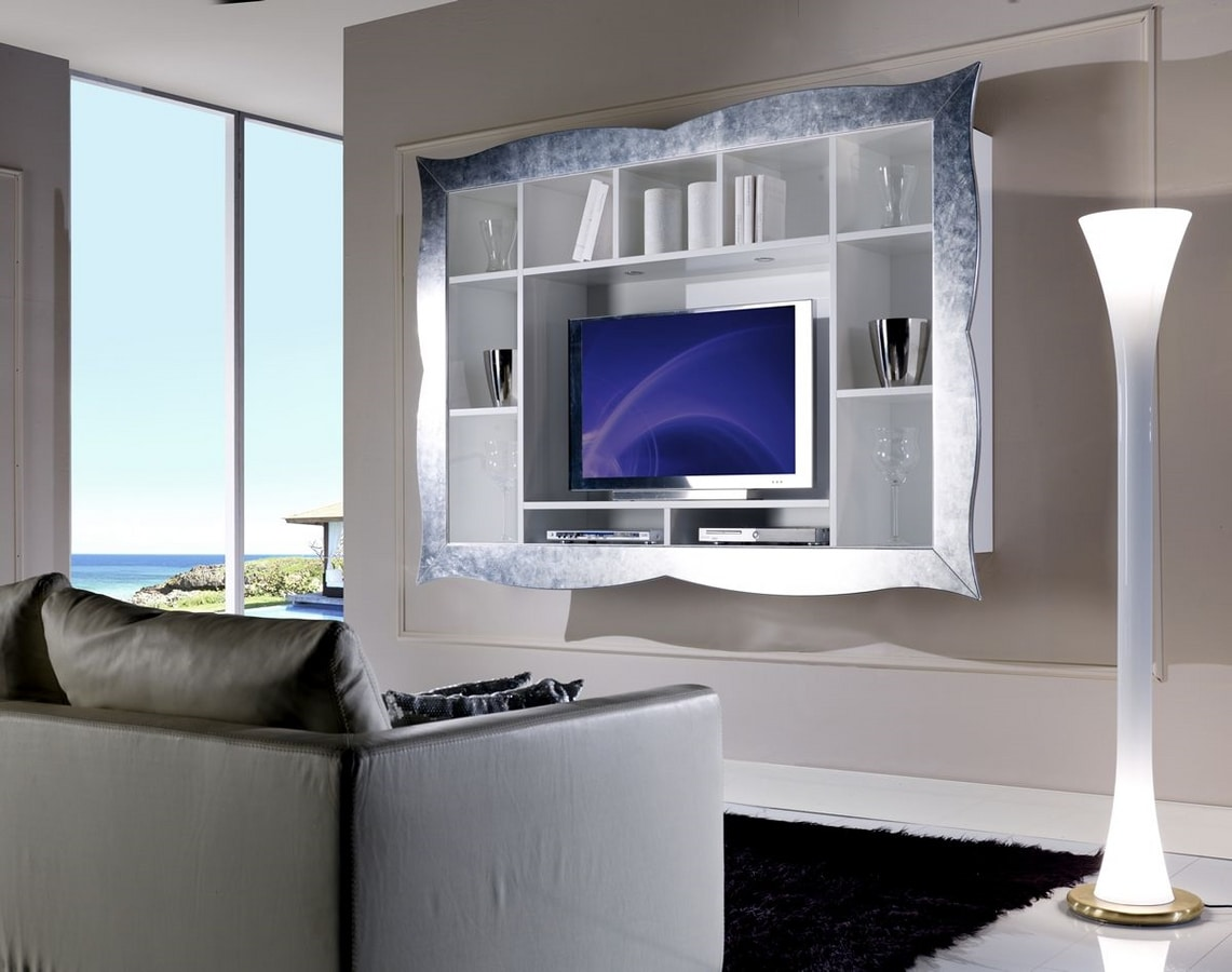 meuble tv suspendu pour salon idfdesign
