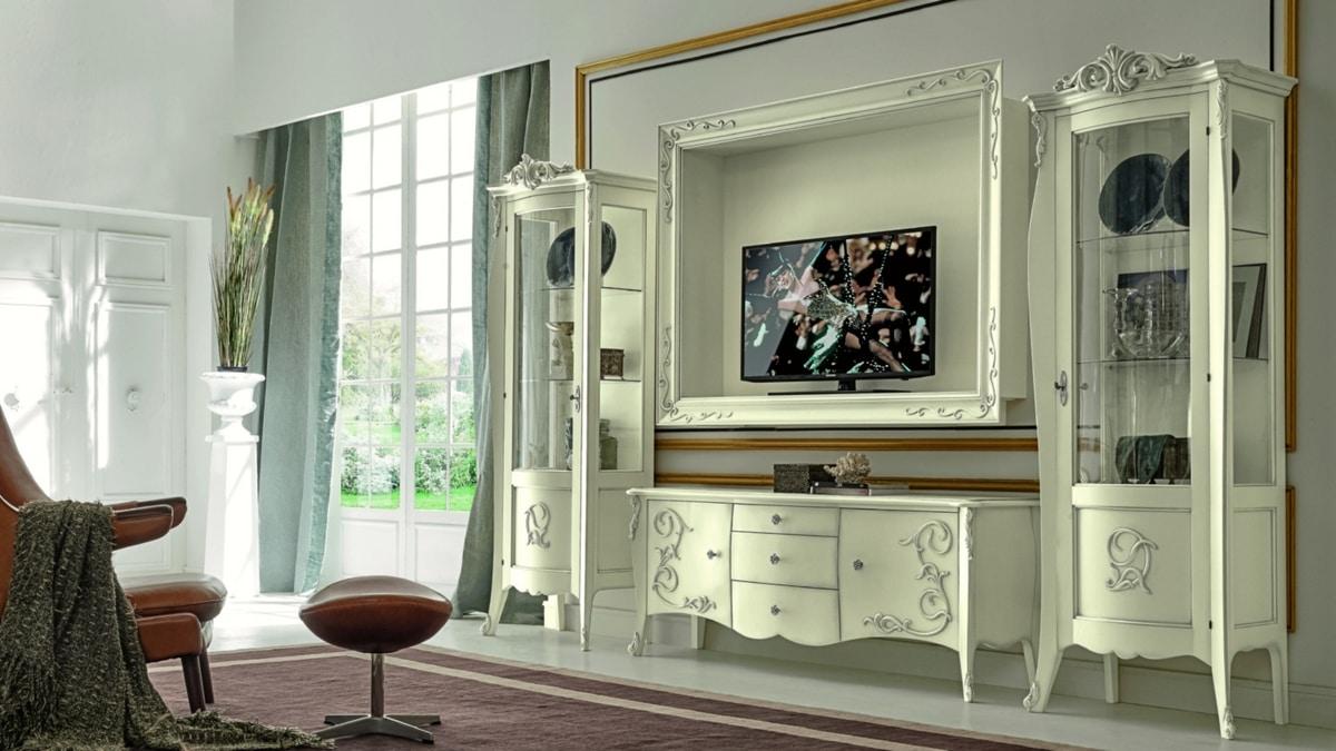 meuble tele de style baroque idfdesign