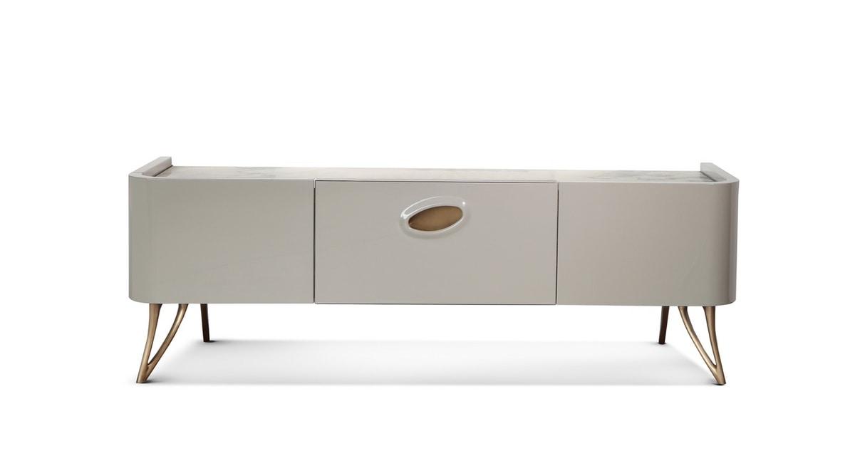 meuble tele avec dessus en marbre