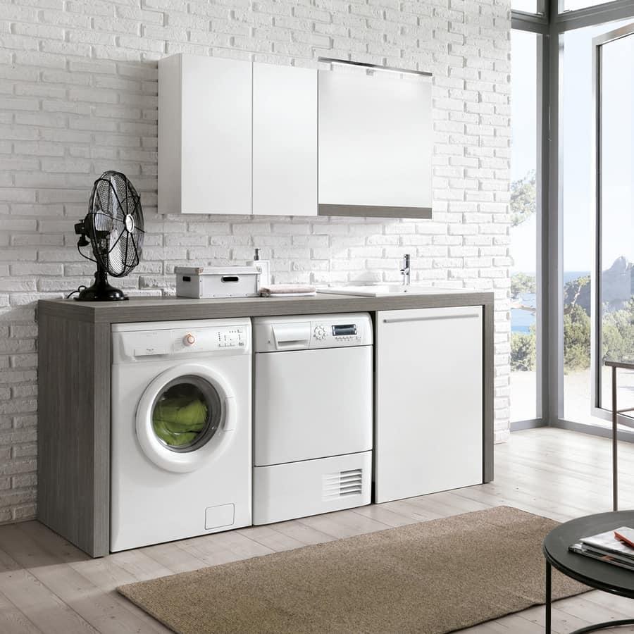 Arredo componibile per lavanderia  IDFdesign
