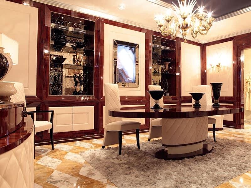 Boiserie in stile Sale da pranzo  IDFdesign