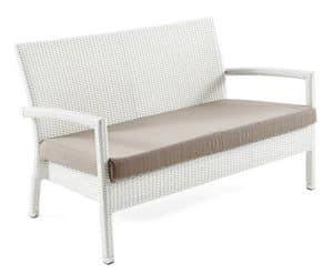 santa monica sofa set charcoal tufted divano componibile, base in alluminio, intrecciato a mano ...