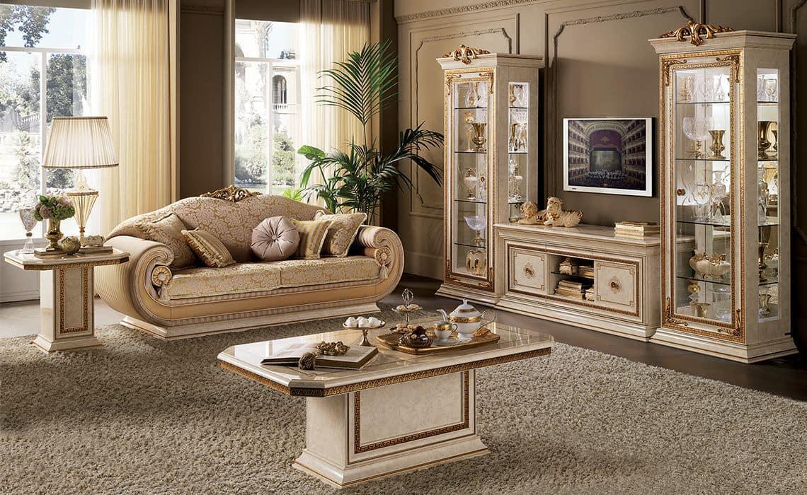 Mobile TV per salotto in stile classico  IDFdesign
