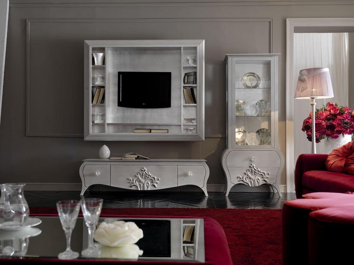 Mobili da soggiorno stile classico contemporaneo  IDFdesign