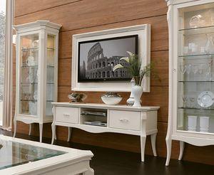 Porta tv per soggiorno classico contemporaneo per ville  IDFdesign