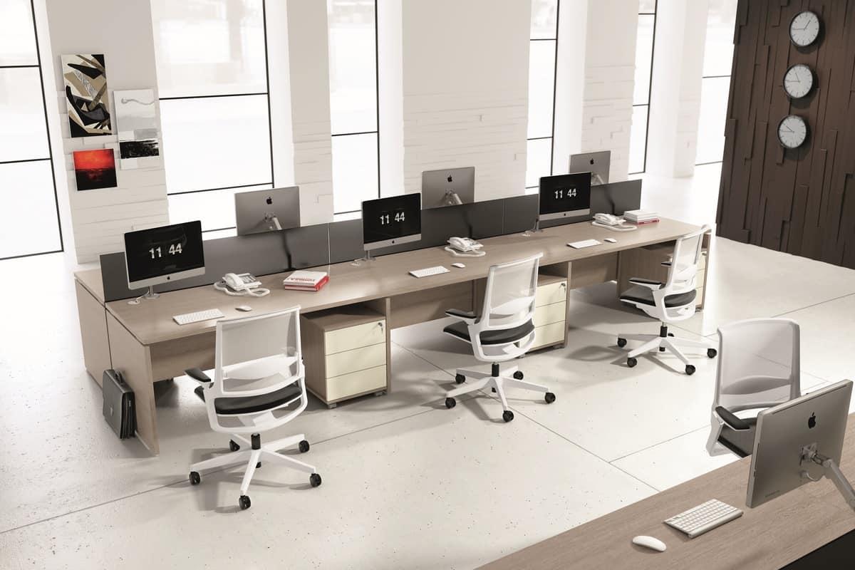 Mobili modulari per ufficio in stile moderno  IDFdesign