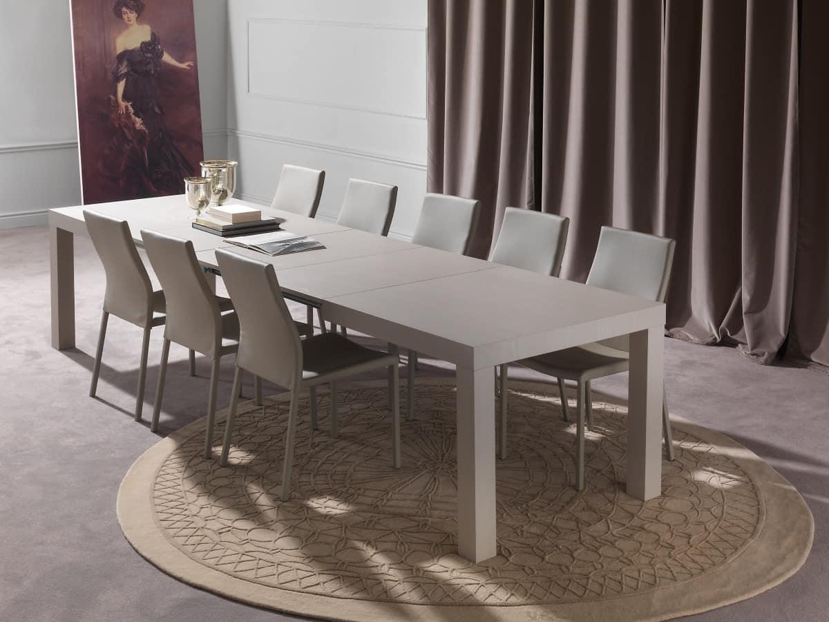 Tavolo da pranzo allungabile fino a 12 posti  IDFdesign