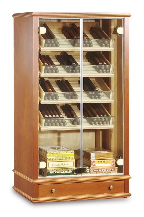 Vetrina Climatizzata Per Sigari Per Tabaccheria IDFdesign