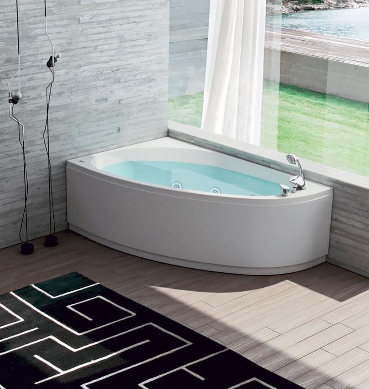 Vasca da bagno con regolazione aria 6 getti idromassaggio  IDFdesign