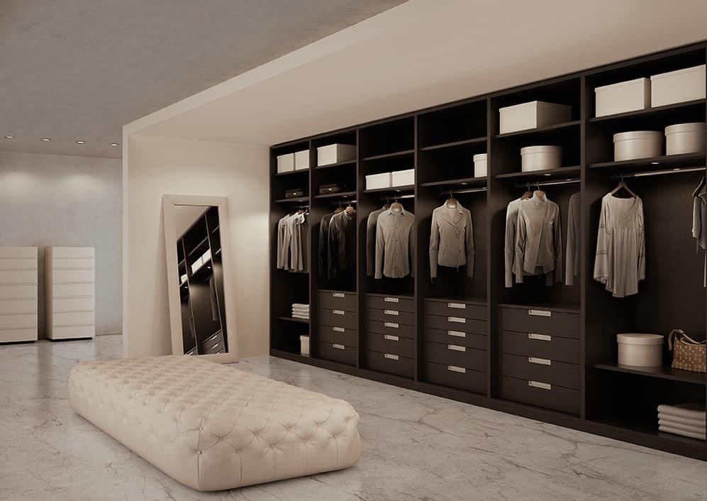 Kleidung Begehbarer Kleiderschrank Zimmer  IDFdesign