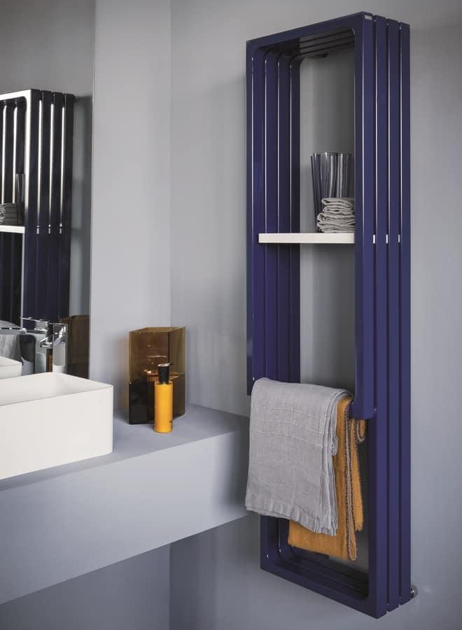 Badheizkrper mit Handtuchhalter und Regal  IDFdesign
