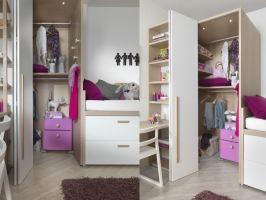 Kid Schlafzimmer mit begehbarem Kleiderschrank   IDFdesign