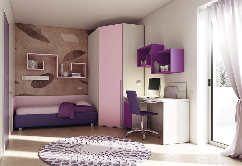 Schlafzimmer fr Kinder mit optimierten Rumen  IDFdesign