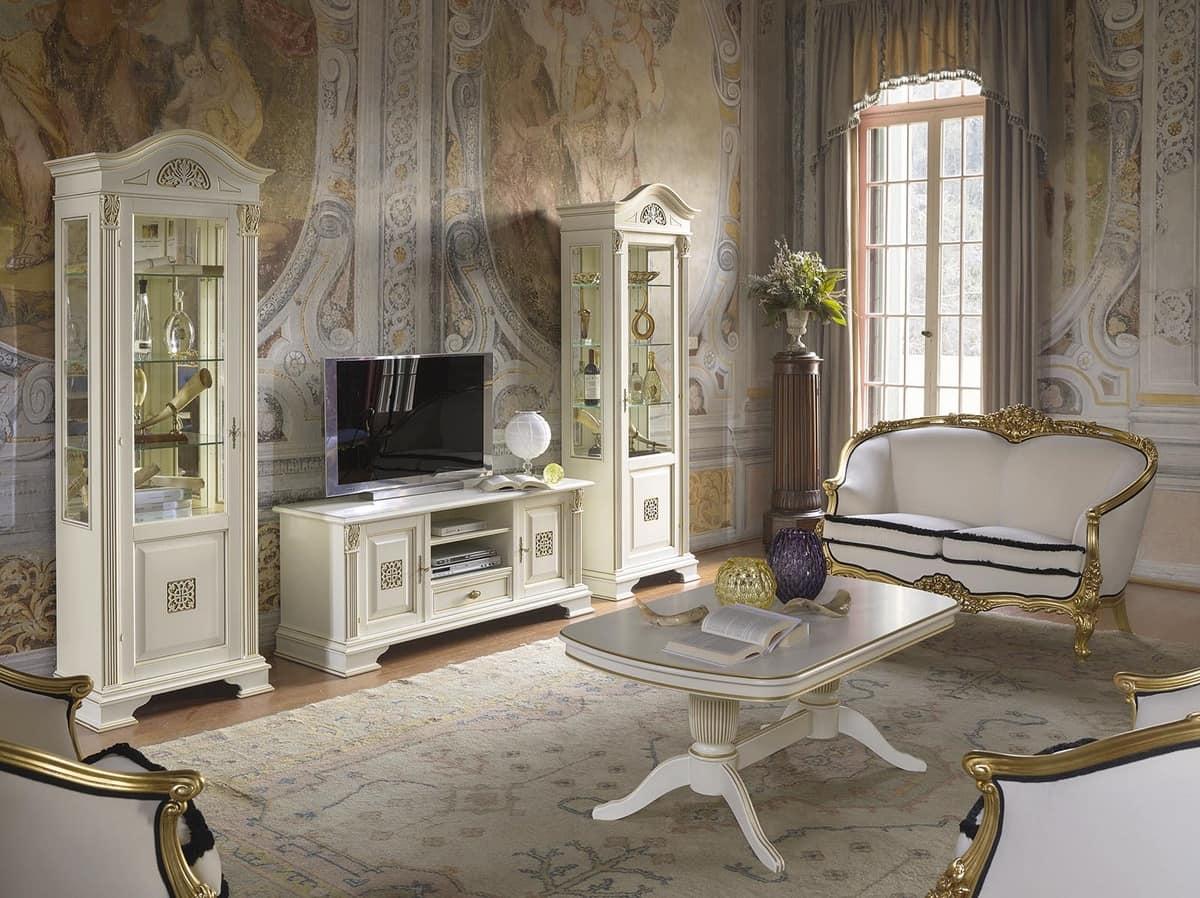 Zentrum Halle Tisch fr luxurise klassischen Wohnzimmer  IDFdesign