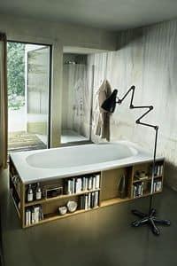 Moderne Badewanne Mit Verschiedenen Beschichtungen Und