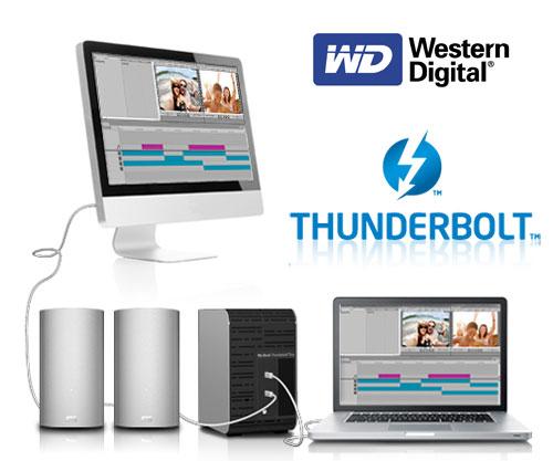 WD lanza su primer disco duro externo My Book Thunderbolt Duo