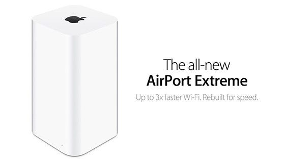 Airport Express, Airport Extreme och Airport Time Capsule