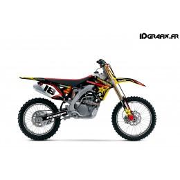 Kit déco Rockstar Makita series pour Suzuki RMZ